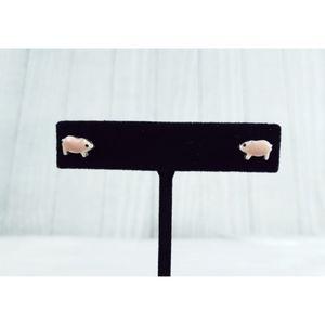 Little Pig Stud Earrings